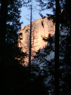 Half-Dome 22 - Half-Dome at Sunset [2]