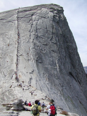 Half-Dome 54 - Cables and Face