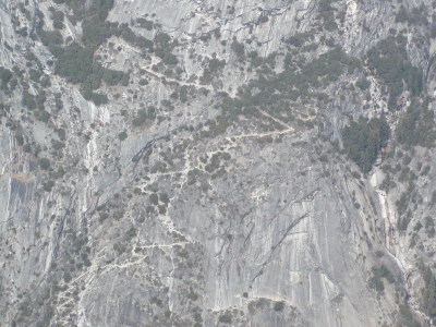 Half-Dome 76 - The Narrow Road - From Half-Dome