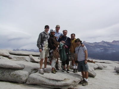 Half-Dome 84 - Us with German Climbers