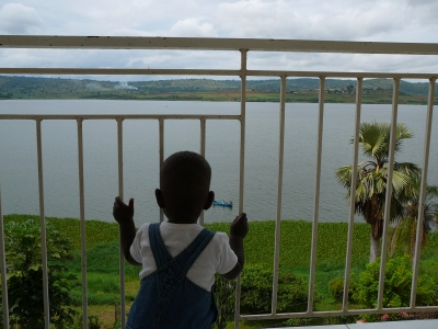 Judah Looking Out Over Lake Victoria