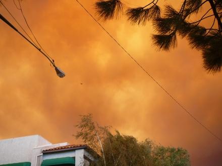 Heavy Smoke overNewhall