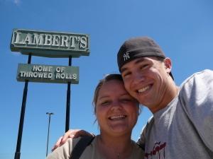 Gunner & Cindi at Lambert\'s