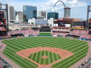 Busch Stadium - From Our Seats