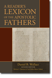 Reader's Lexicon of the Apostolic Fathers