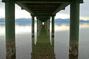 Bridge and Pillars