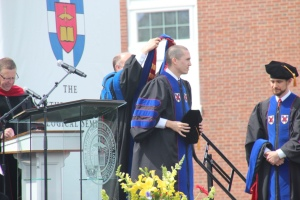 Graduation Hooding