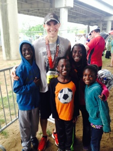 Half-Marathon Finish with Family