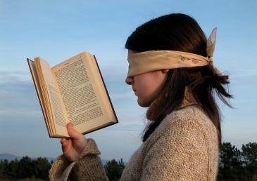 Blindfolded Reader