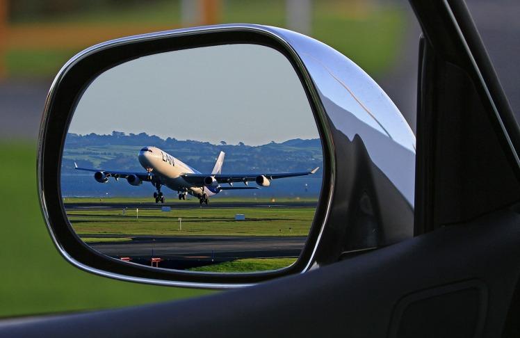 Plane Rearview
